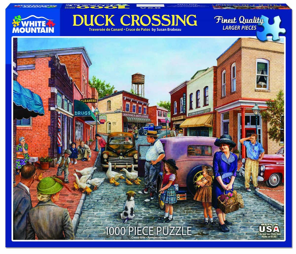 Duck Crossing - 1000 Pieces - DISC