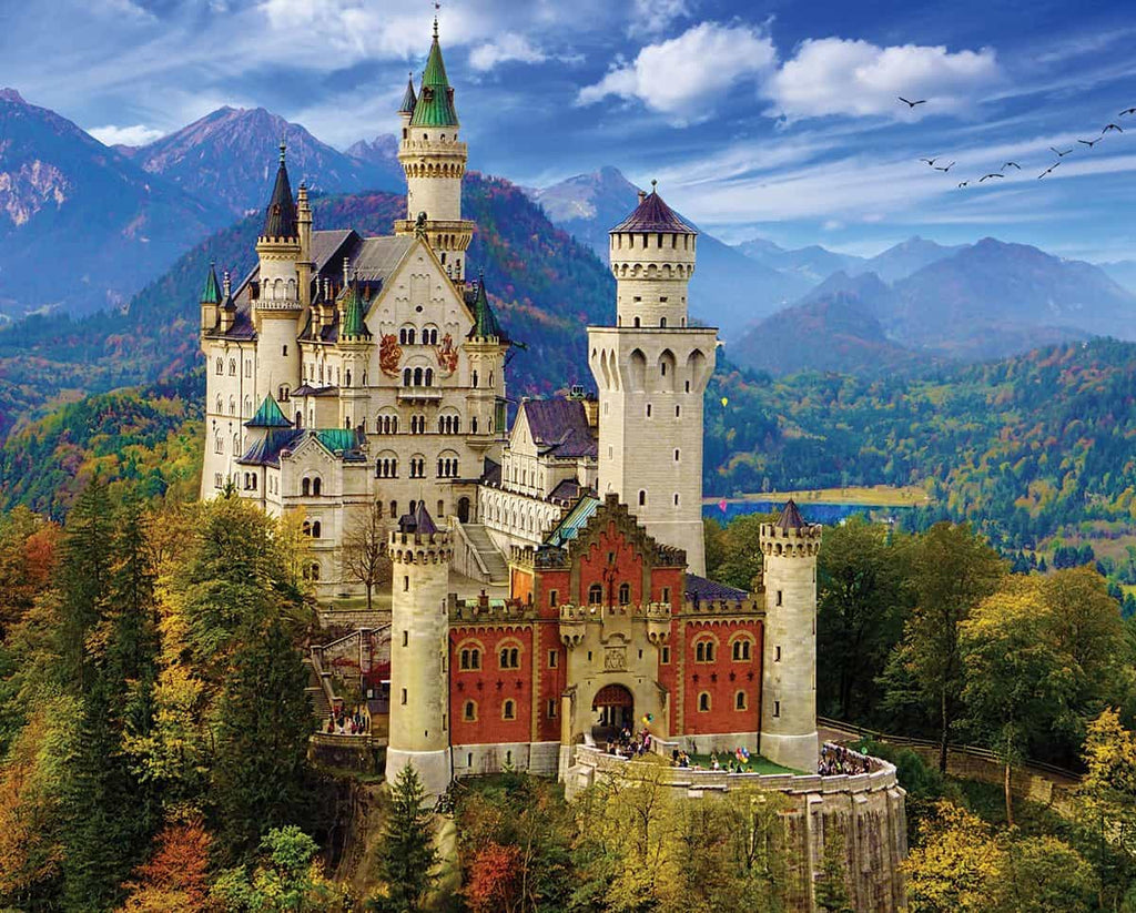 Neuschwanstein Castle - 1000 Pieces