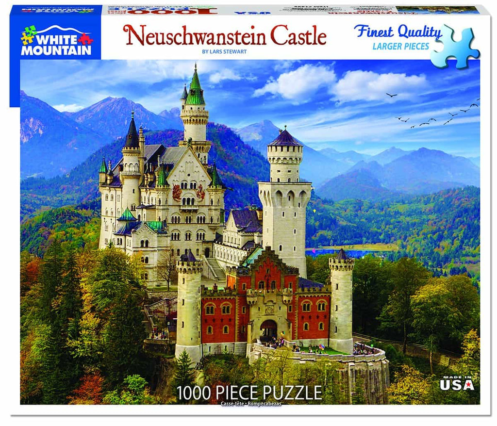 Neuschwanstein Castle (1335pz) - 1000 Pieces