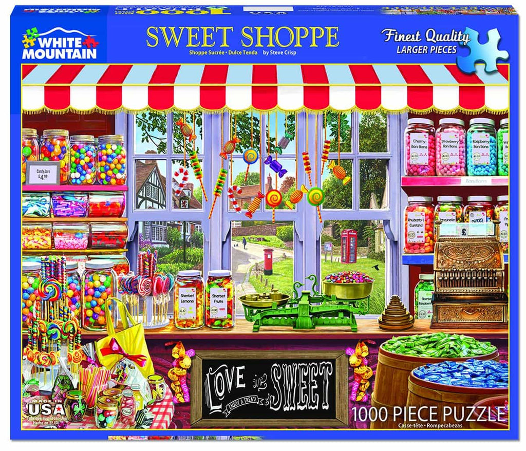 Sweet Shoppe -1000 Pieces - DISC