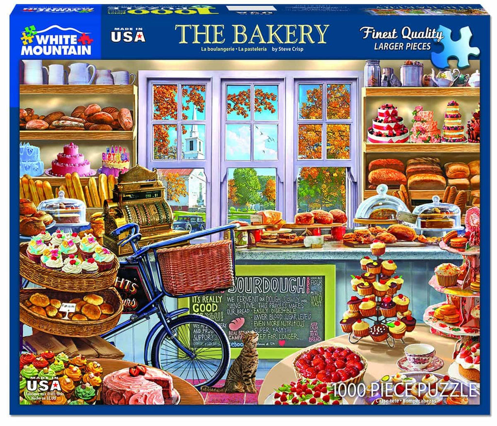 The Bakery (1340pz) - 1000 Piece Jigsaw Puzzle