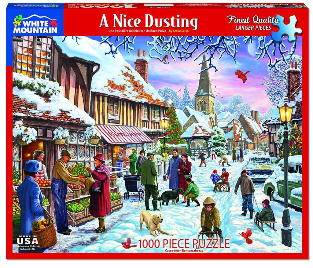 A Nice Dusting - 1000 Pieces