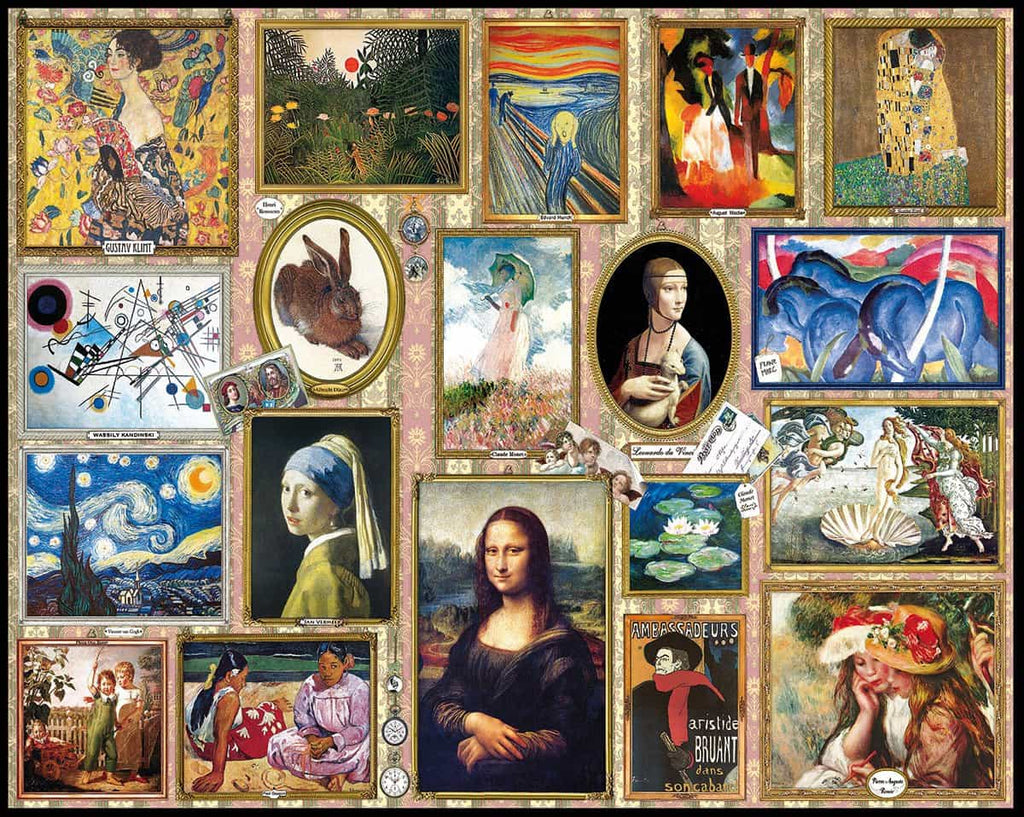 Great Paintings (1345pz) - 1000 Pieces