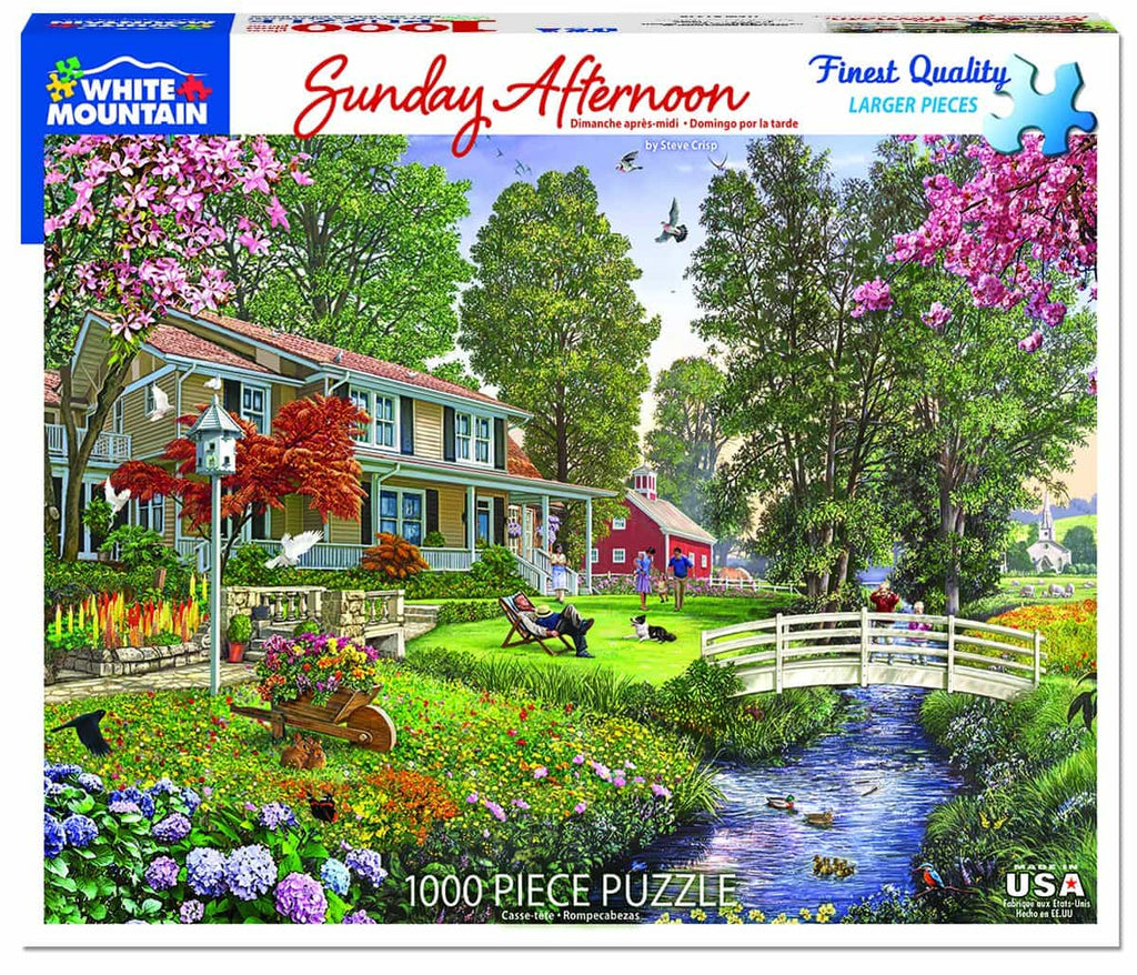 Sunday Afternoon (1349pz) - 1000 Piece Jigsaw Puzzle