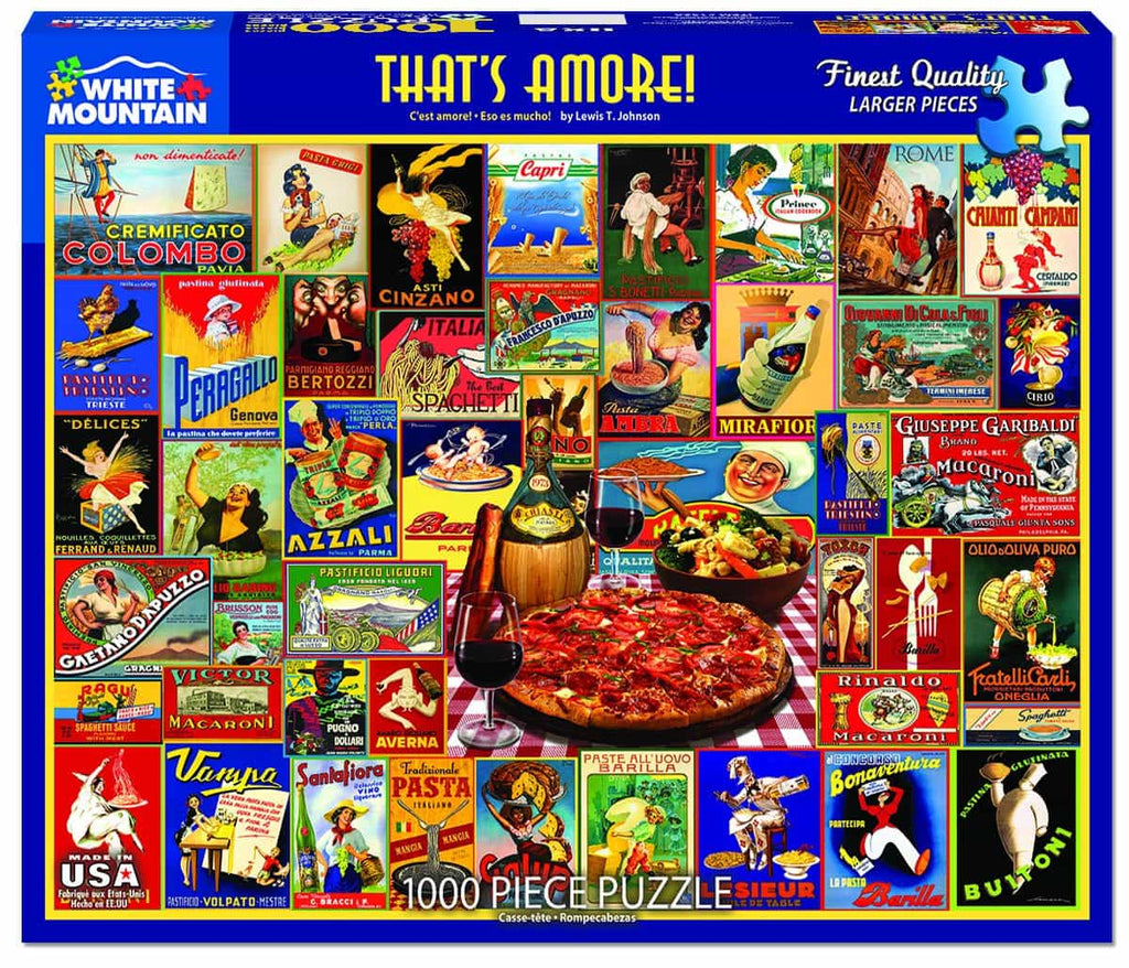 That's Amore - 1000 Pieces - DISC