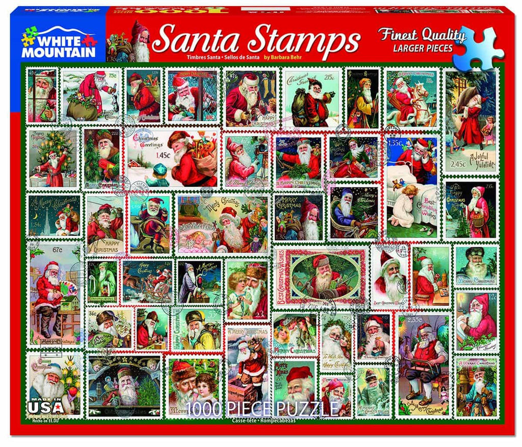 Santa Stamps - 1000 Pieces