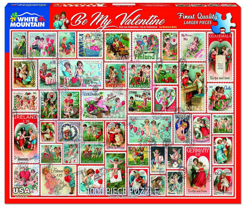 Be My Valentine -  1000 Pieces - DISC
