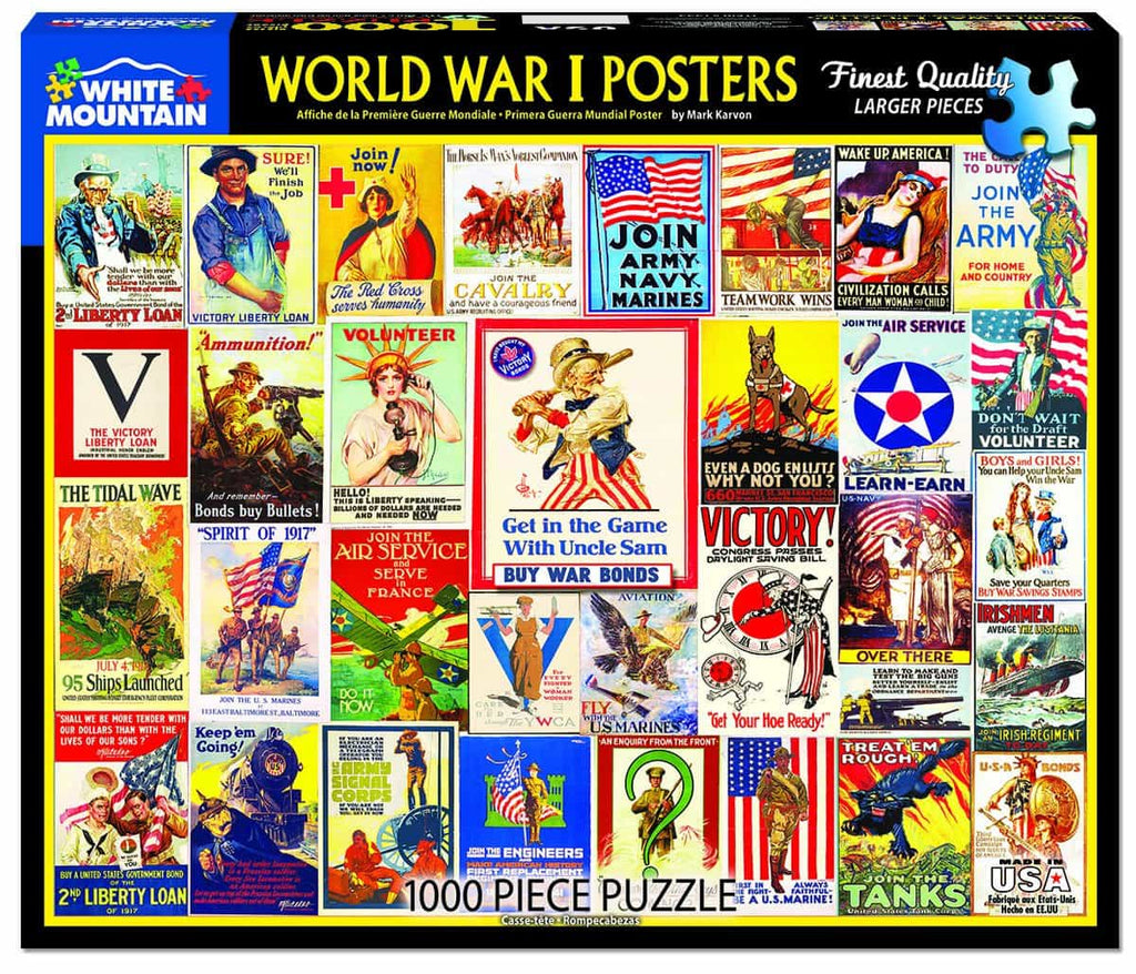 World War I Posters  - DISCONTINUED