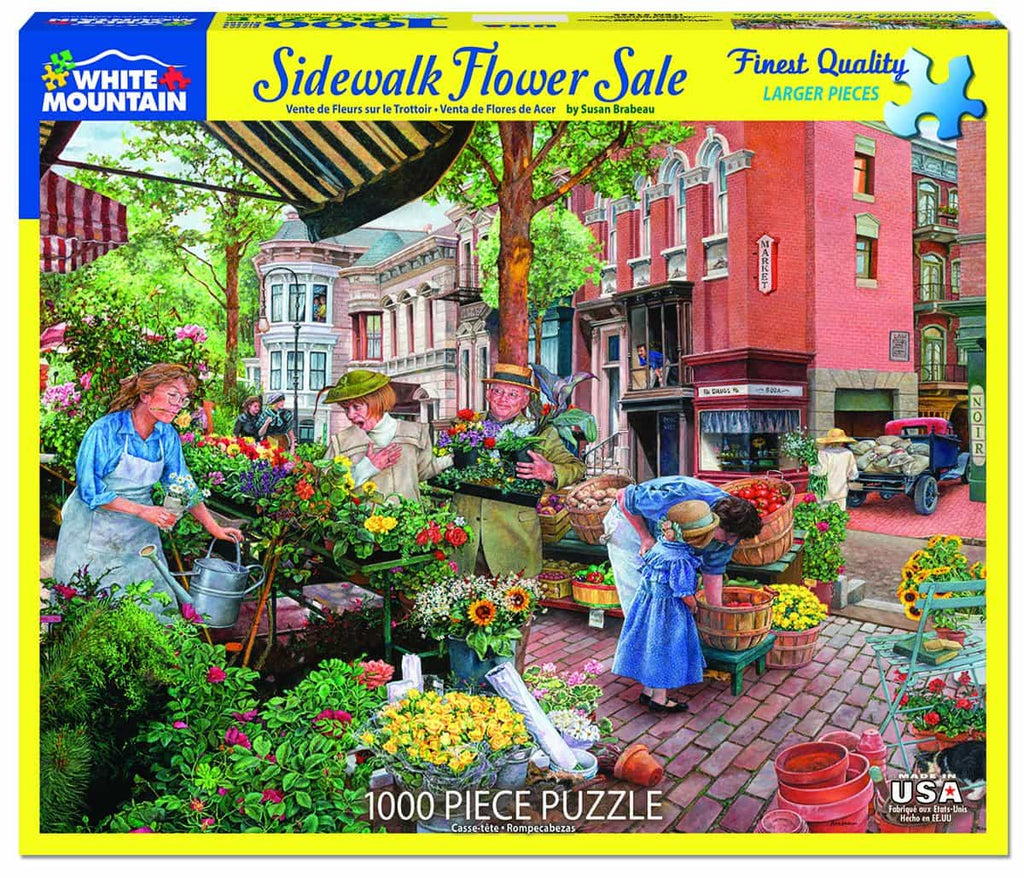 Sidewalk Flower Sale - 1000 Pieces