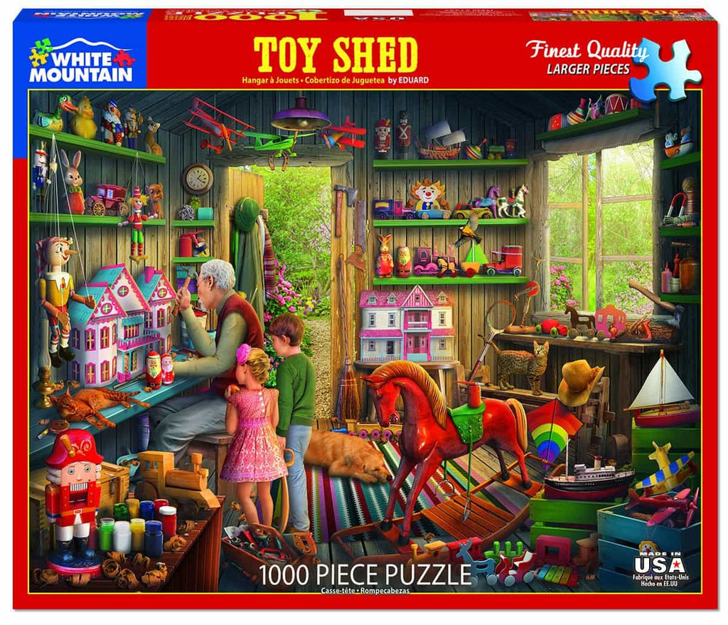 The Toy Shed - 1000 Pieces