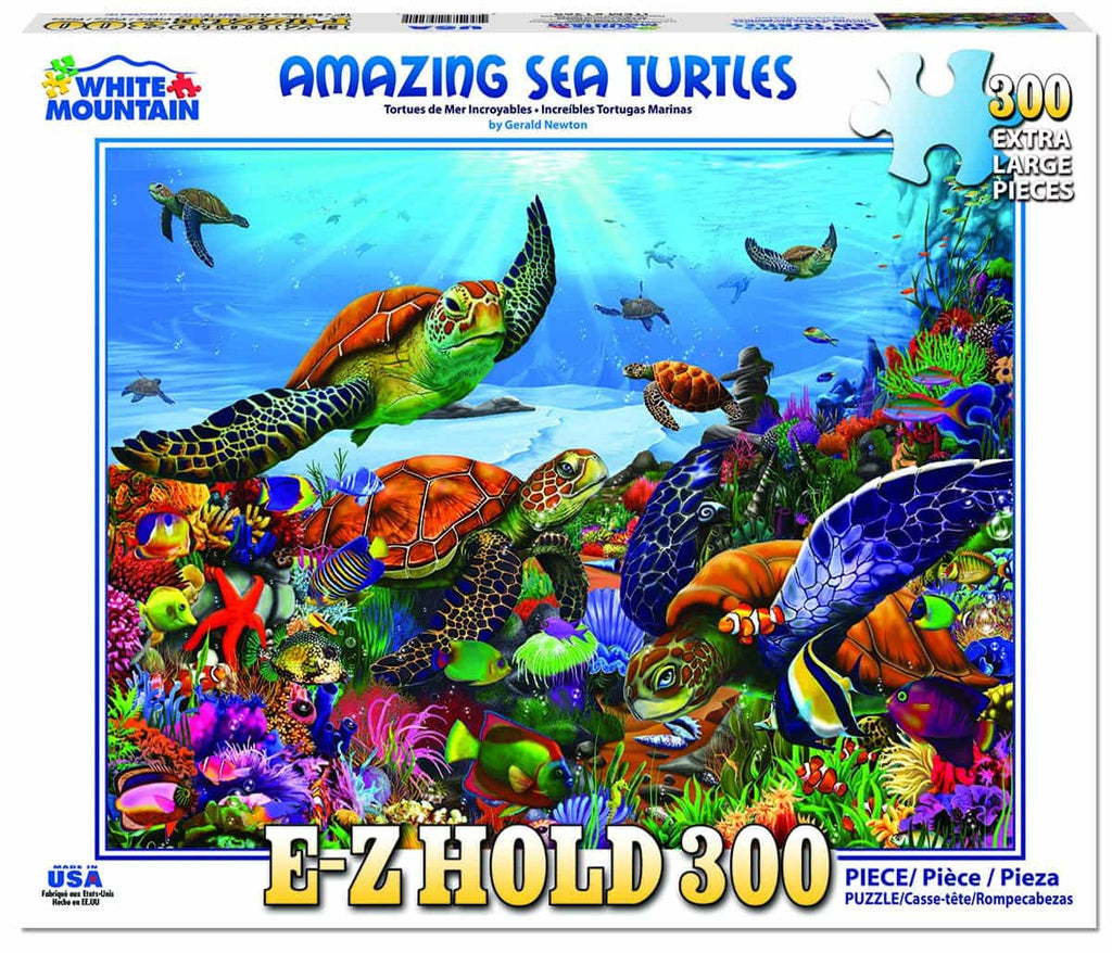 Amazing Sea Turtles (1369pz) - 300 Piece Jigsaw Puzzle