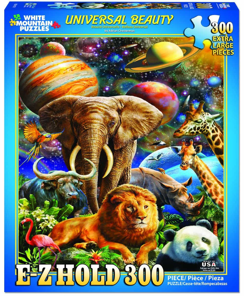 Universal Beauty (1370pz) - 300 Piece Jigsaw Puzzle