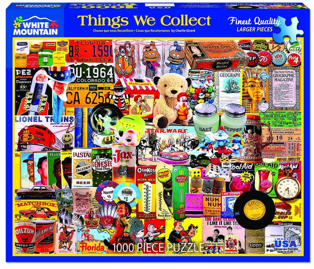 Things We Collect (1376pz) - 1000 Piece Jigsaw Puzzle