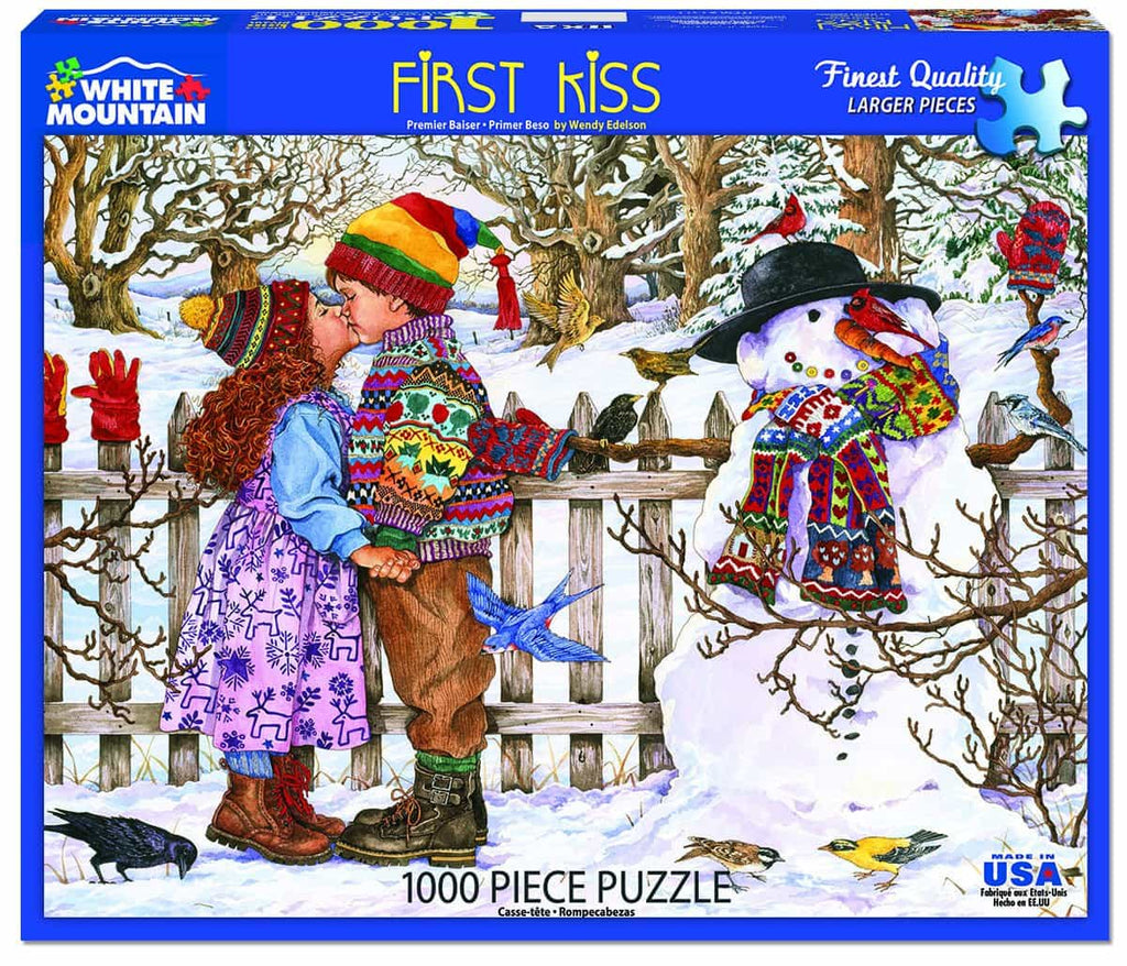 First Kiss (1377pz) - 1000 Piece Jigsaw Puzzle