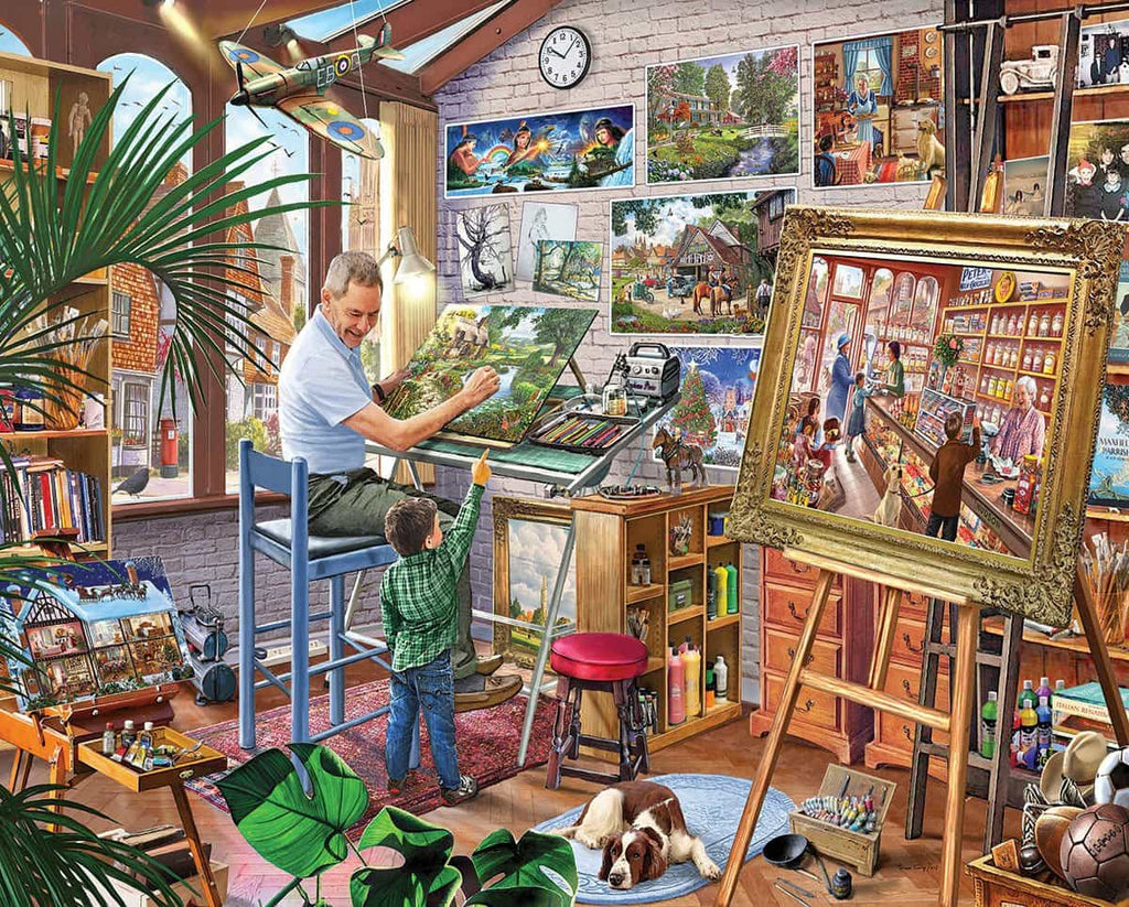 Artist's Studio - 1000 Pieces