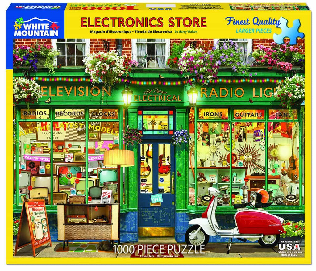 Electronics Store - 1000 Pieces