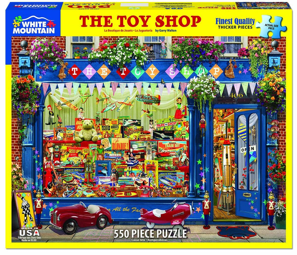The Toy Shop - 550 Pieces - DISC