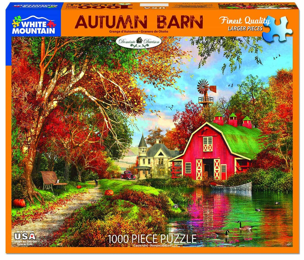 Autumn Barn (1383pz) - 1000 Pieces