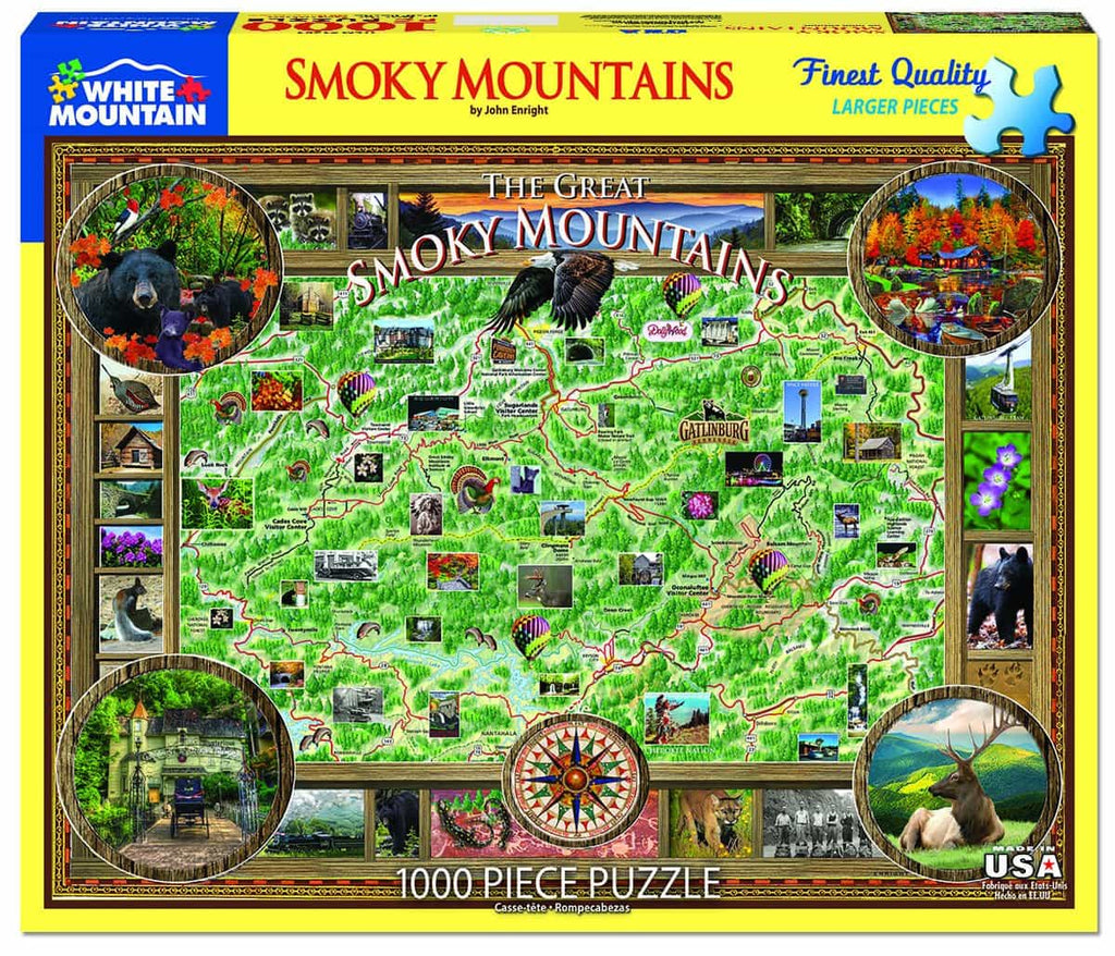 Smokey Mountains - 1000 Pieces