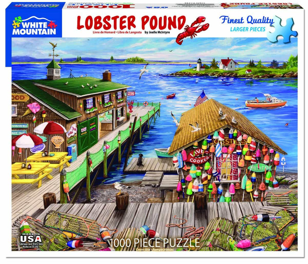 Lobster Pound (1385pz) - 1000 Piece Jigsaw Puzzle