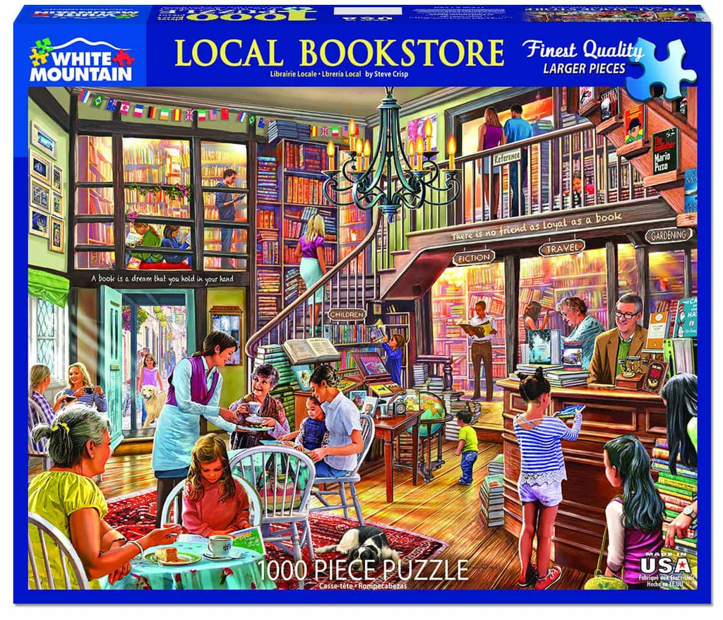 Local Book Store - 1000 Pieces