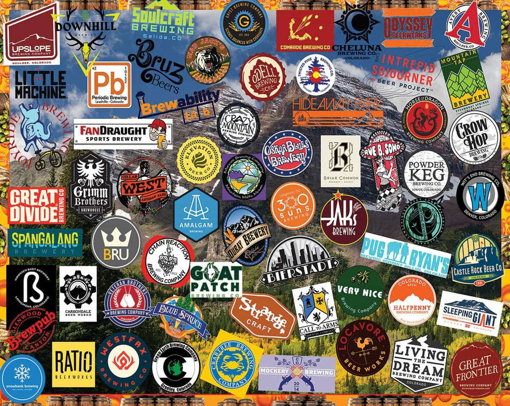 Colorado Craft Beer (1394pz) - 1000 Piece Jigsaw Puzzle