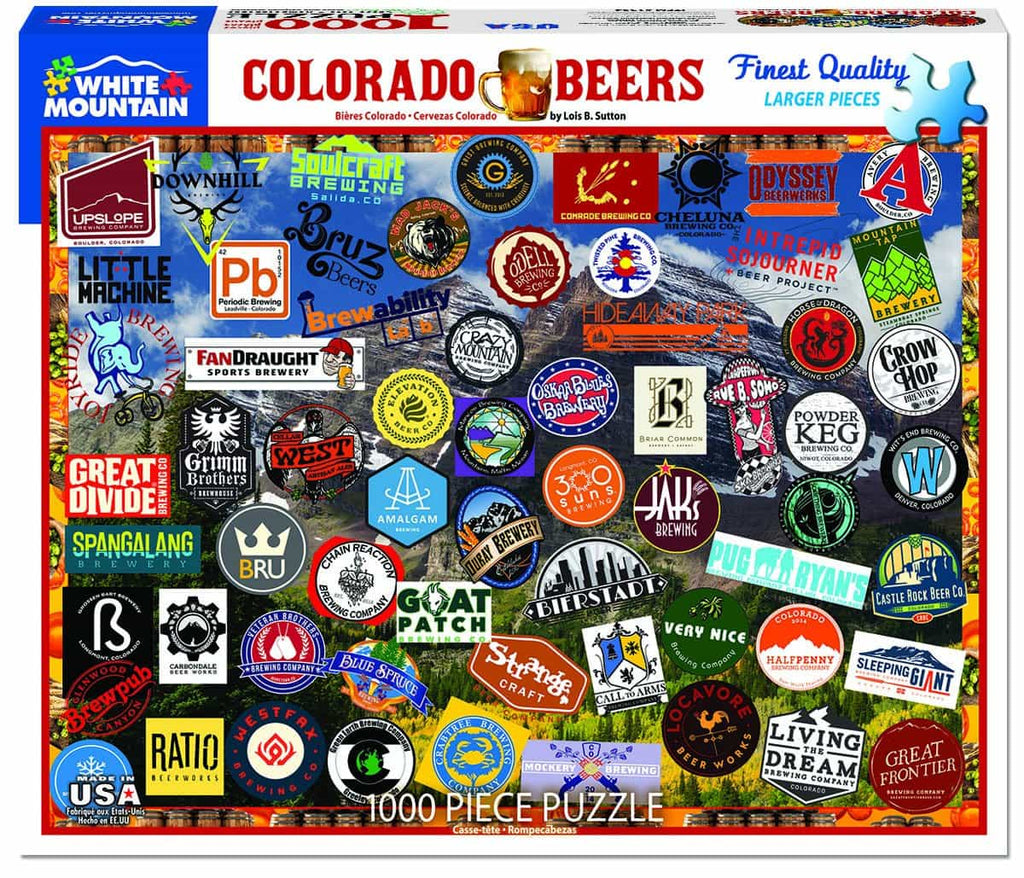 Colorado Craft Beer - 1000 Pieces