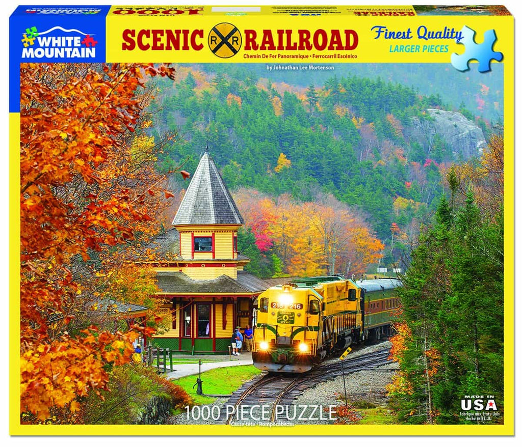 Scenic Railroad (1398pz) - 1000 Piece