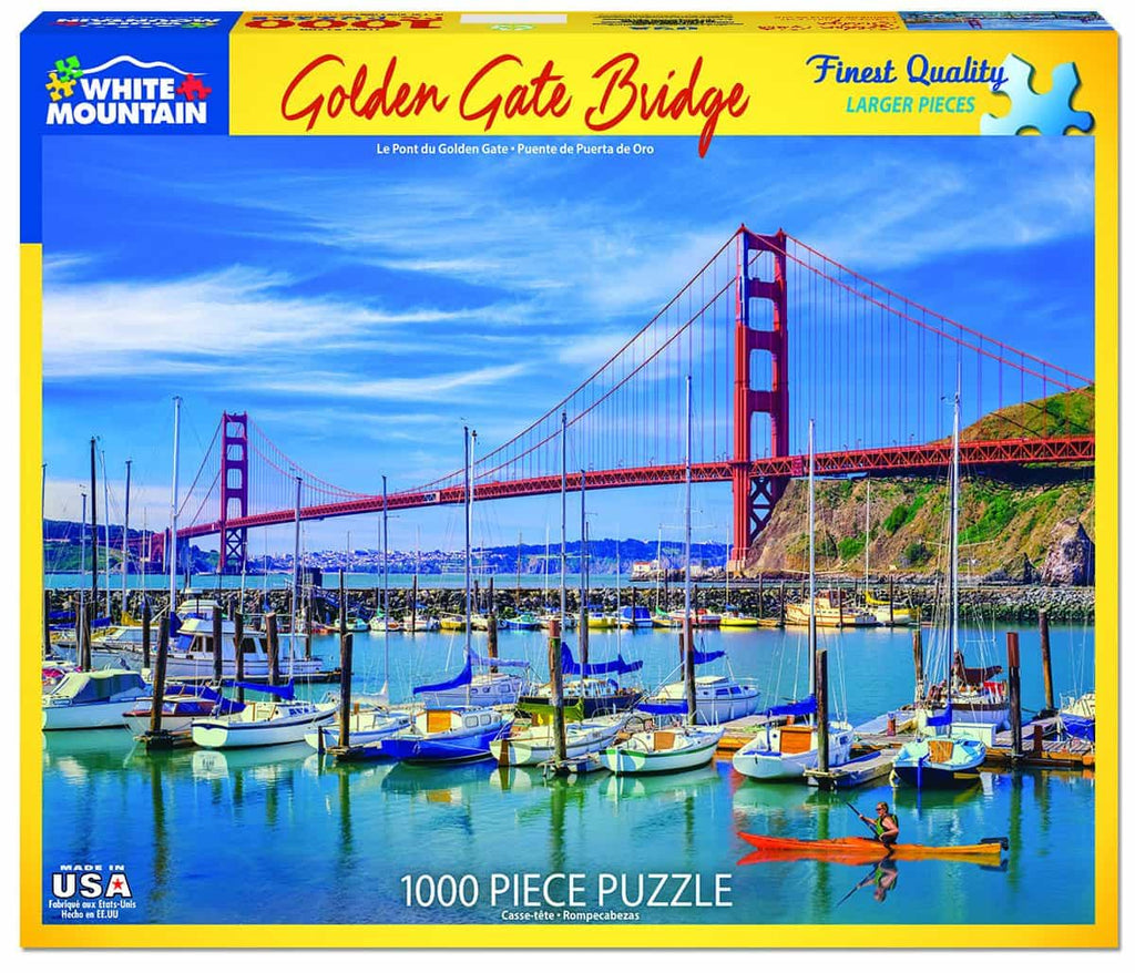 Golden Gate Bridge (1399pz) - 1000 Piece Jigsaw Puzzle
