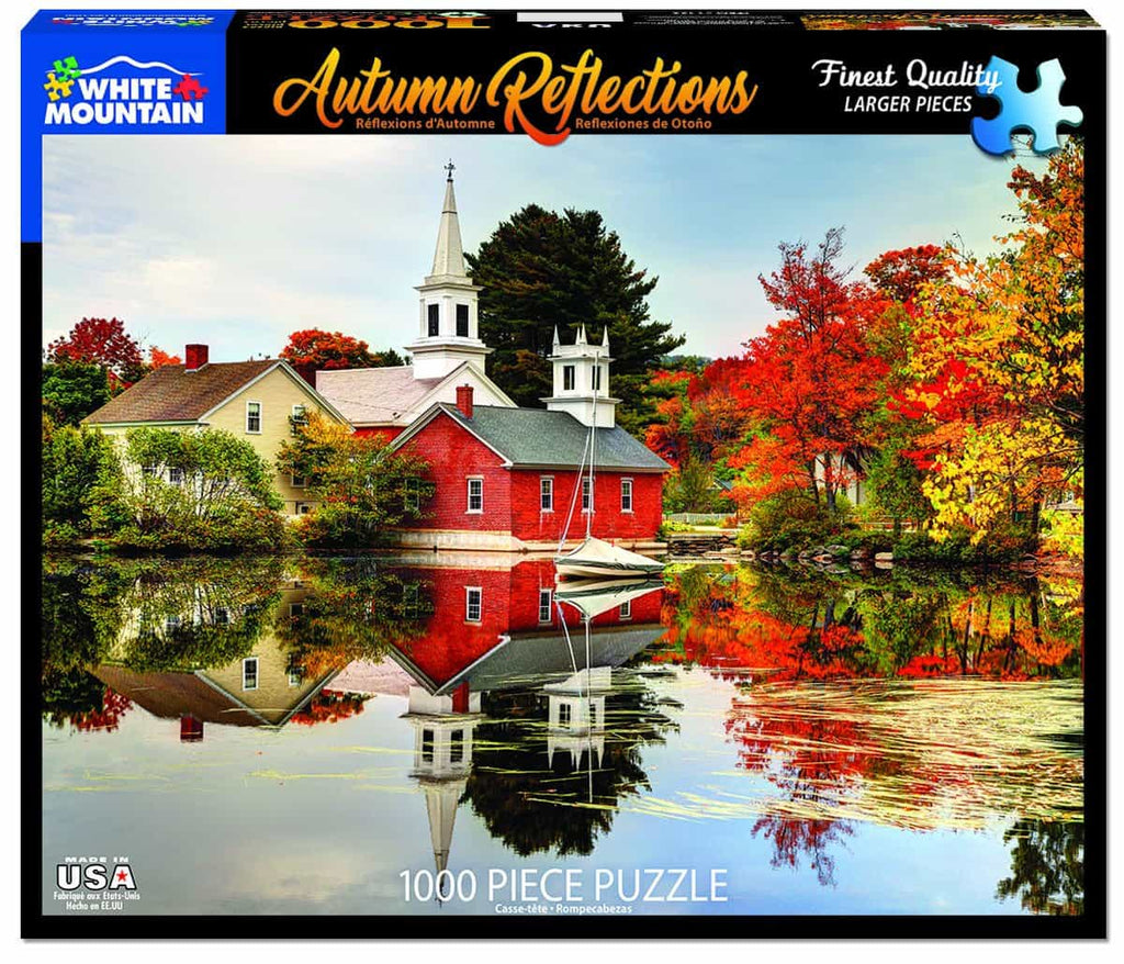 Autumn Reflections (1400pz) - 1000 Piece Jigsaw Puzzle