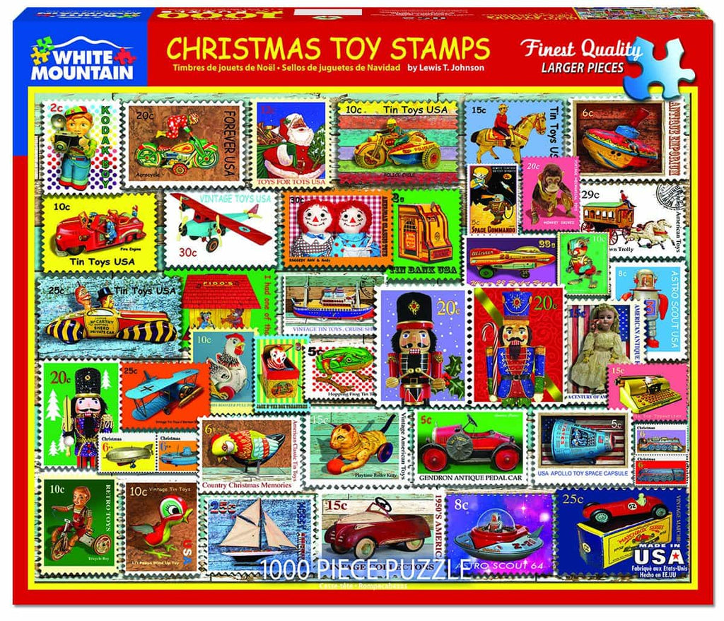 Christmas Toy Stamps (1403pz) - 1000 Pieces