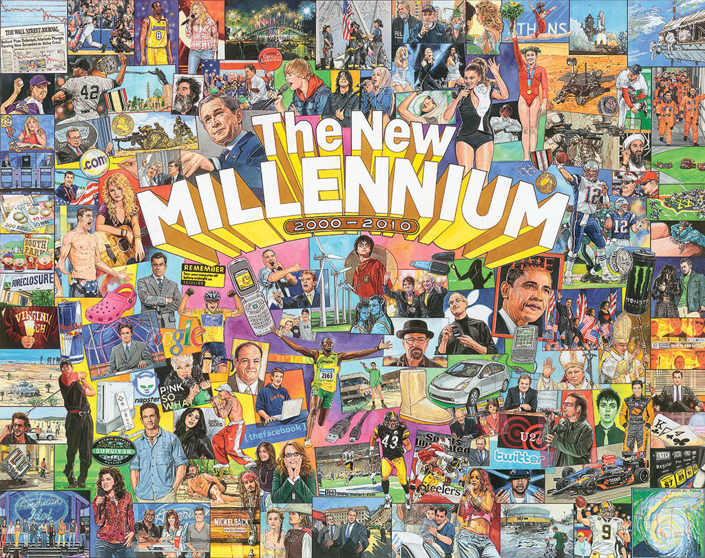 "The New Millennium (1404t) - 1000 PC (Small 20""x27"" Format)"