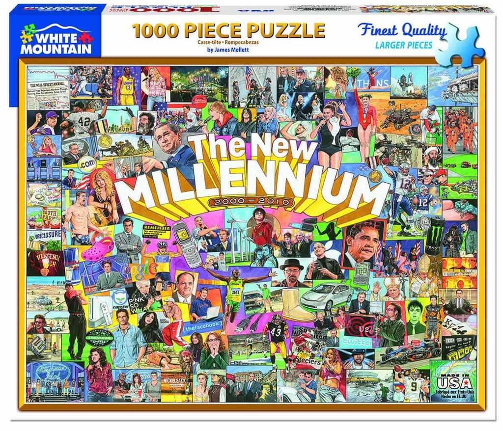 The New Millennium - 1000 Pieces