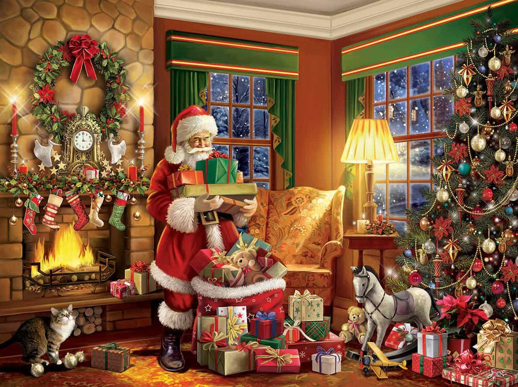 Delivering Gifts (1409PZ) - 550 Piece Jigsaw Puzzle