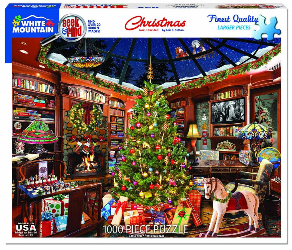 Christmas (1410pz) - Seek & Find - 1000 Piece Jigsaw Puzzle