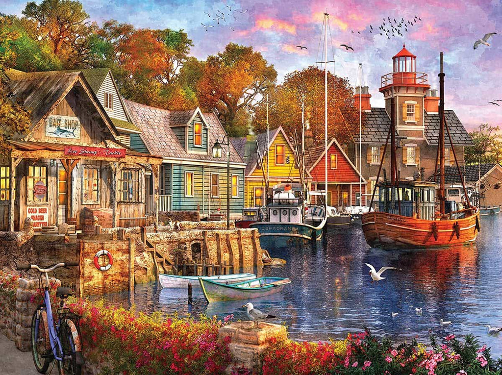Harbor Evening (1418pz) - 1000 Pieces