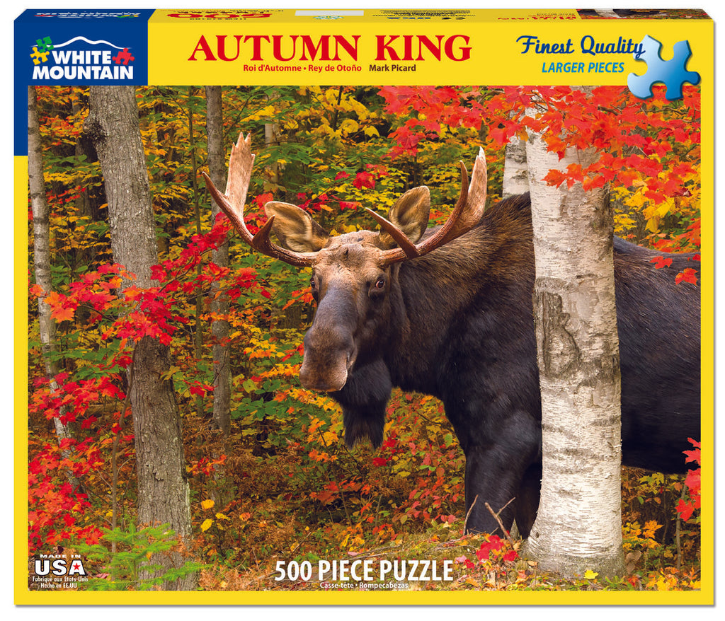 Autumn King (1419PZ)- 500 Piece Jigsaw Puzzle