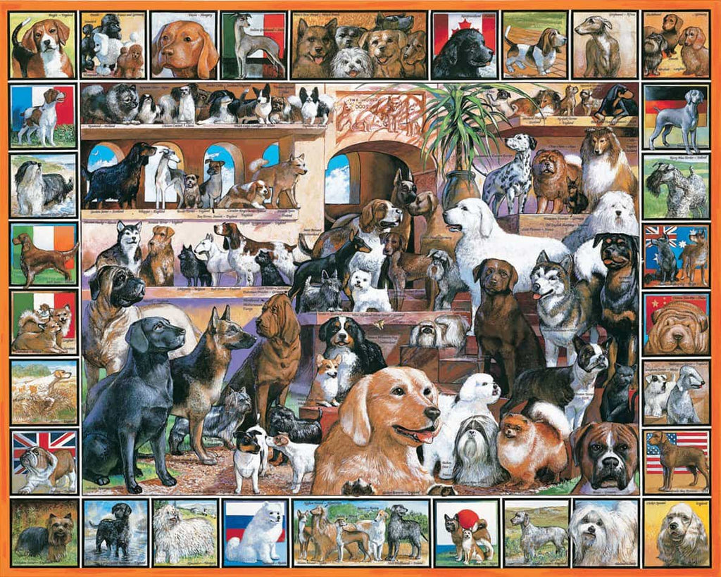 World of Dogs - 1000 Pieces