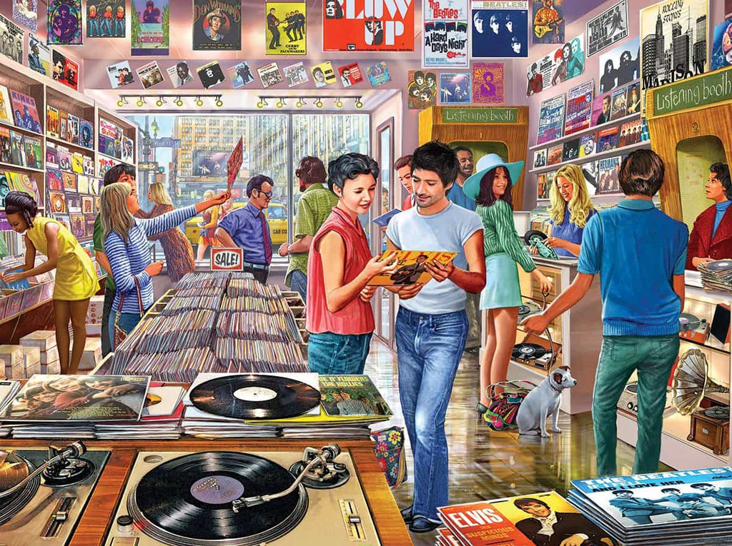 Vintage Record Store - 1000 Pieces