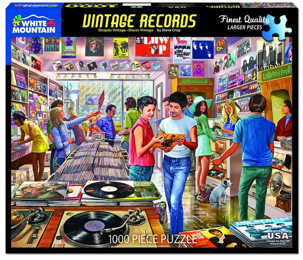 Vintage Record Store (1422pz) - 1000 Pieces