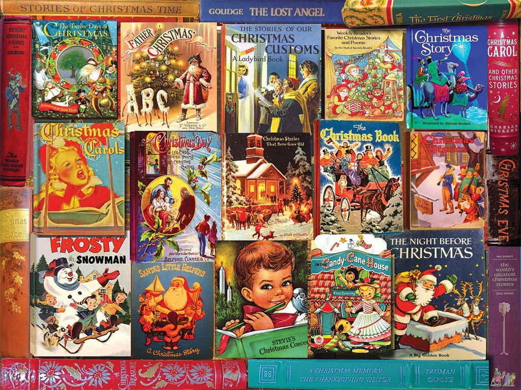 Christmas Books - 1000 Pieces