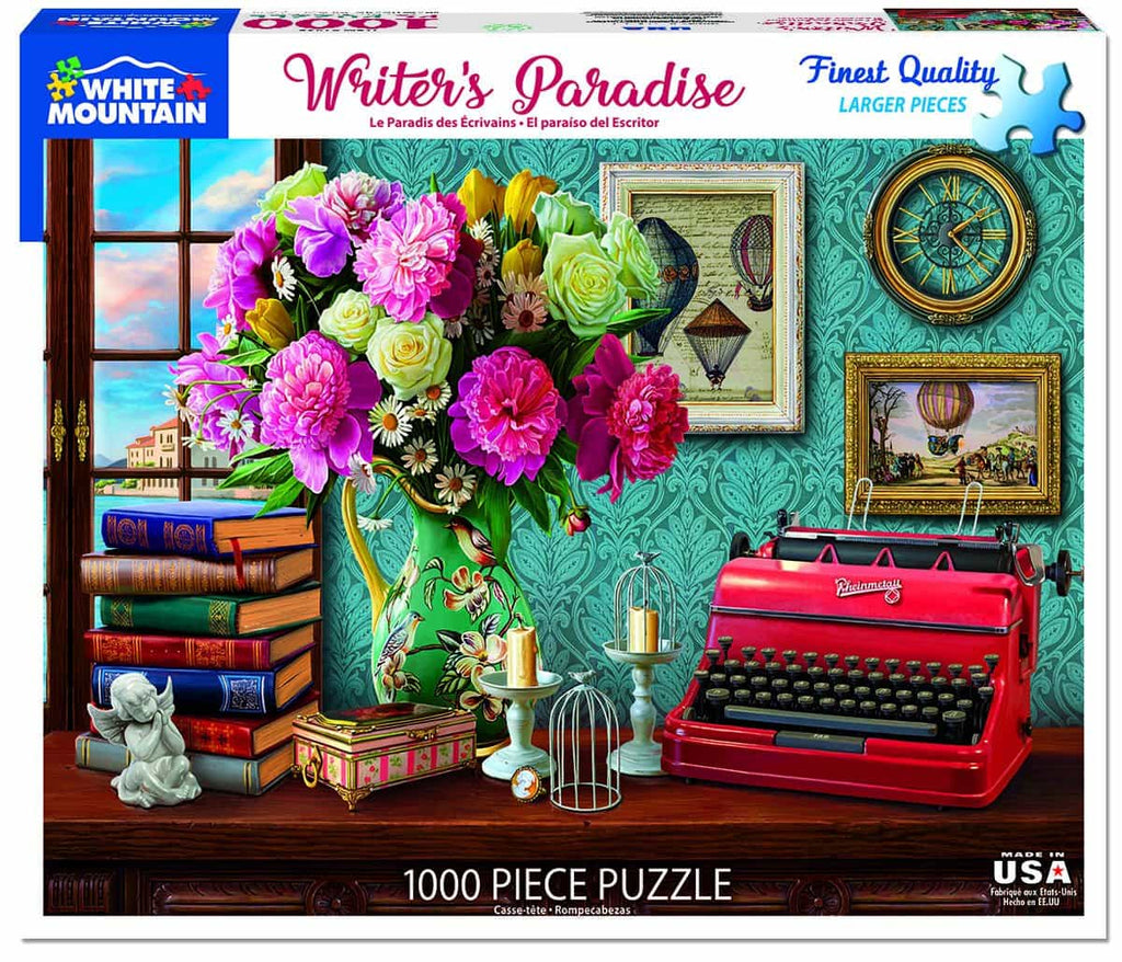 Writer's Paradise (1435pz) - 1000 Pieces