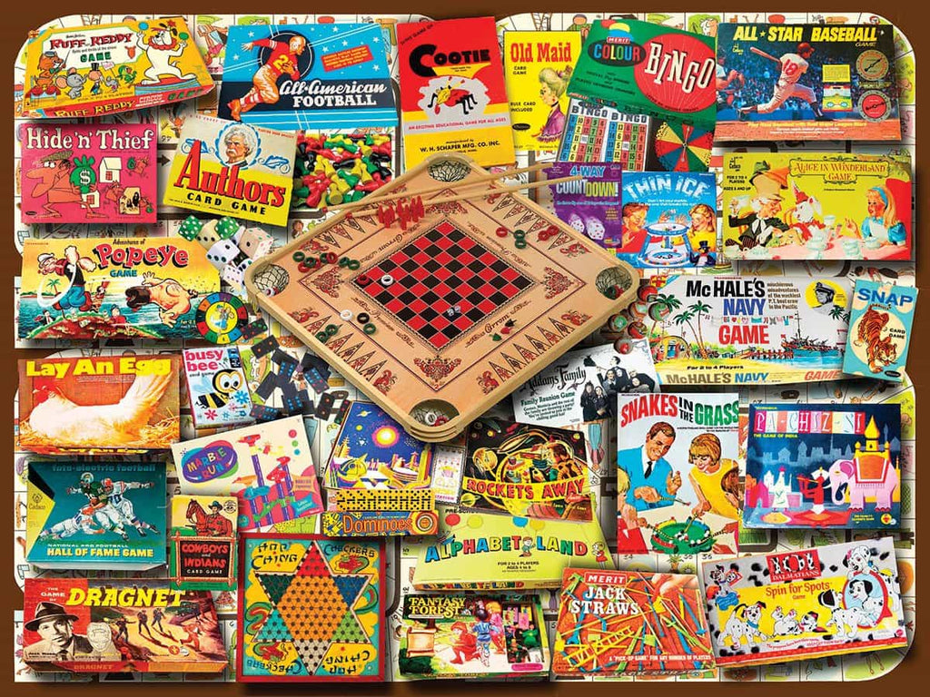 Classic Games - 550 Pieces