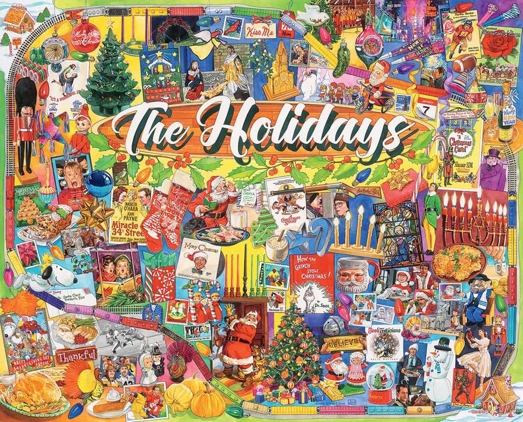 The Holidays - 1000 Pieces