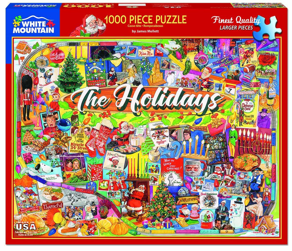 The Holidays (1441pz) - 1000 Piece Jigsaw Puzzle