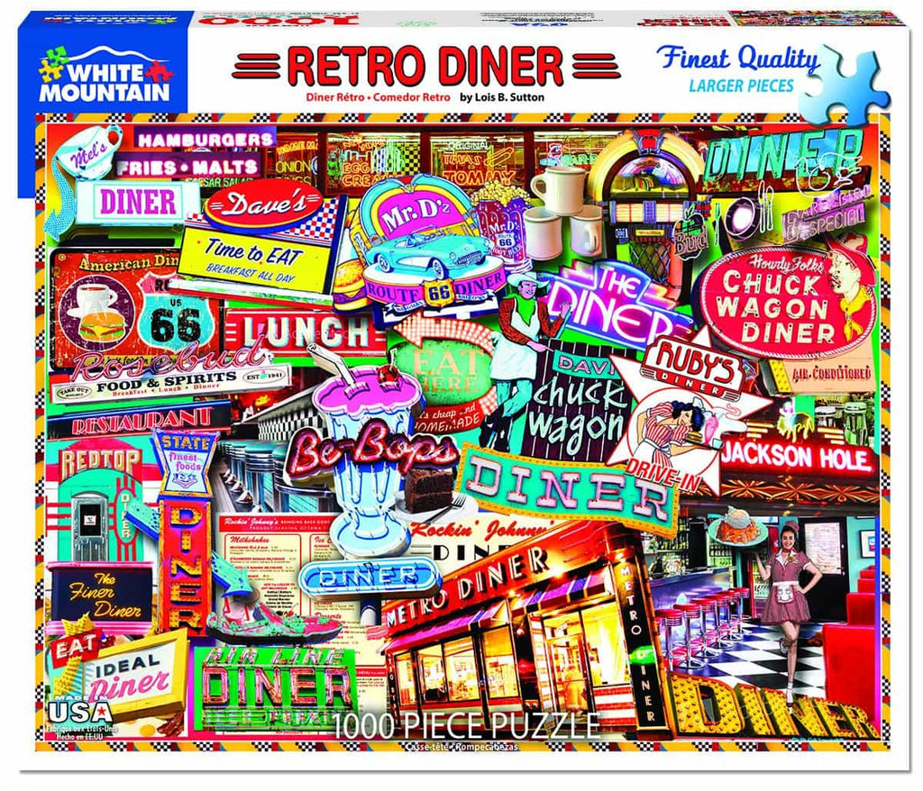 Retro Diner - 1000 Pieces