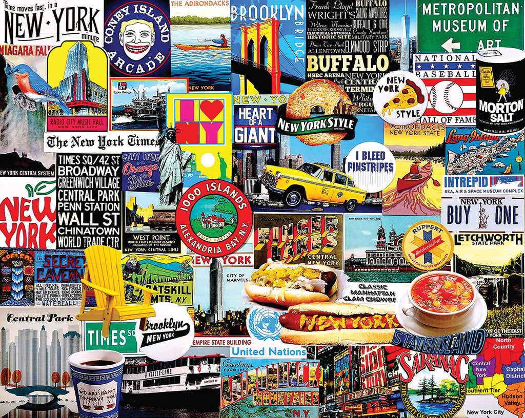 New York New York (1447pz) - 1000 Piece Jigsaw Puzzle
