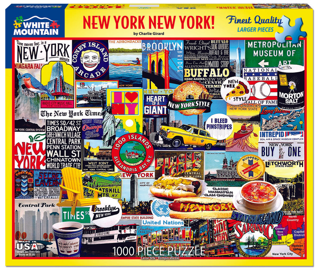 New York New York - 1000 Pieces