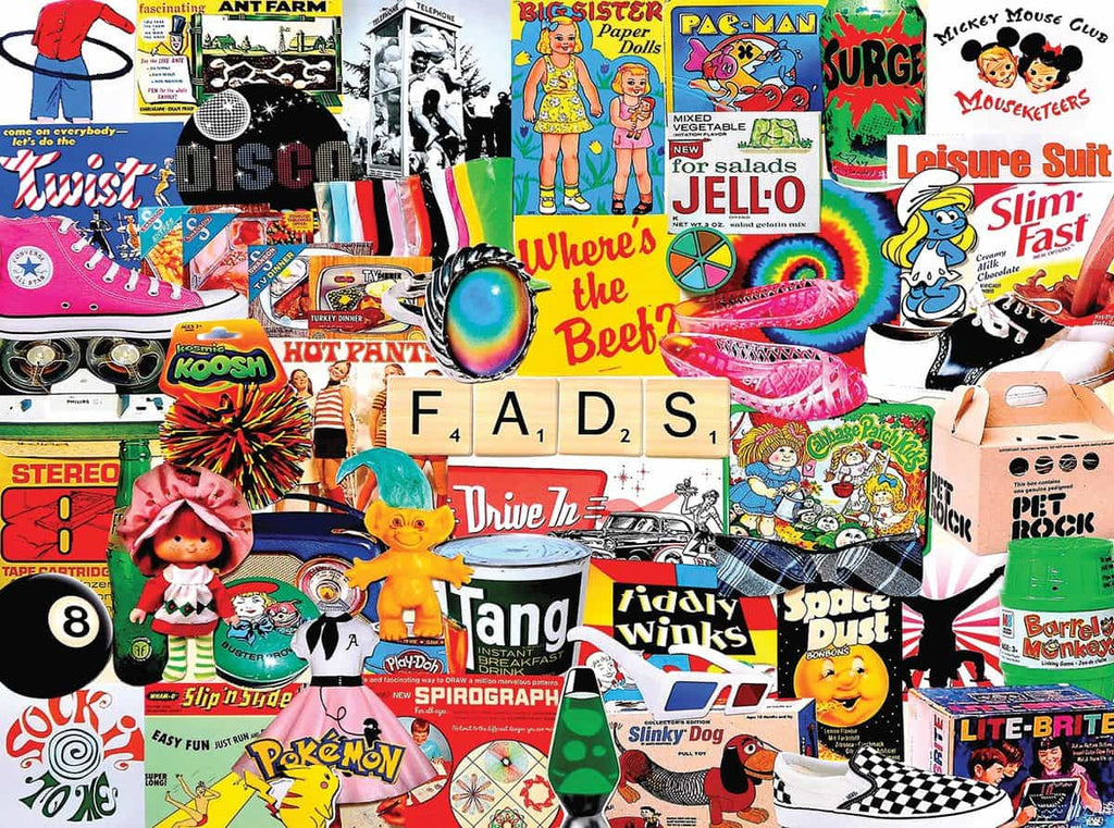 Fads (1459pz) - 1000 Pieces