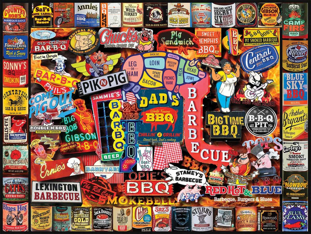 Barbeque (1461pz) - 1000 Pieces